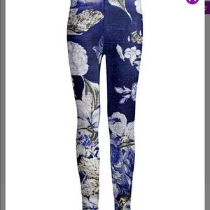 Pants - Size 3X floral leggings